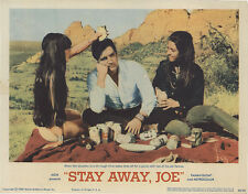 Stay Away, Joe 1968 Original Movie Poster Elvis Presley Comedy Musical Western