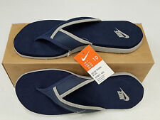 NIKE MEN/WOMEN CELSO THONG PLUS FLIP FLOP SANDAL BLUE/GREY SIZE 8/9.5