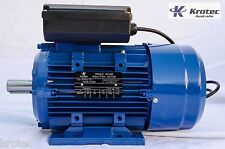 Electric motor single-phase 240v 1.5kw 2hp 1410rpm