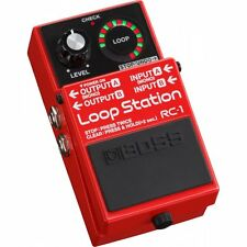 New BOSS RC-1 Loop Station Guitar Effects Looper Pedal Live Acoustic Performance