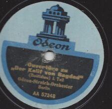 Dajos Bela Orchester 1925 spielt Gounod + Toselli : Serenade + Serenata