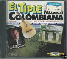 El Tipa Musica Colombiana by Jose Luis Martines Vesga (CD, Oct-1991, Laserlight)
