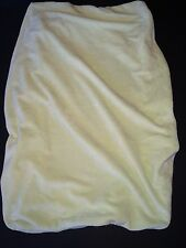 Pottery Barn Kids Light celery green Chamois cloth Changing Pad Cover