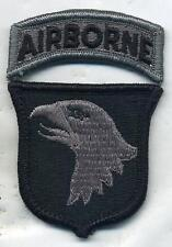 US Army 101st Airborne Division ACU Patch W/Tab With Velcro