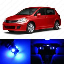 6 x Ultra Blue LED Interior Light Package For 2007 - 2013 Nissan Versa