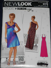 Misses Dress Evening Gown Size 4-16 New Look 6173 Sewing Pattern
