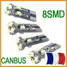 2 Bombillas ultra de gran alcance ANTI ERROR ODB 8 CONDUCIDO T10 base W5W SMD
