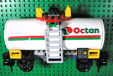 Lego 7939 City CargoTrain: Octan Tank car only, Scarce Tanker, complete & clean