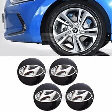 OEM Genuine Parts Wheel Center Hub Caps Cover Emblem for HYUNDAI 2017 Elantra AD
