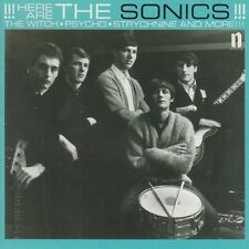 SONICS 'Here are the Sonics CD NEW mummies wailers back from the grave Etiquette