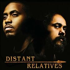 """Distant Relatives [Damian """"Junior Gong"""" Marley/Damian Marley/Nas] New CD"""