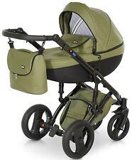 Isofix Nuovo Bambino Carrozzina Buggy 3in1 Passeggino Passeggino Seggiolino Auto sistema da viaggio