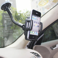 Car Windshield Gooseneck Mount Holder - iPhone iPod Smart Cell Phone MP3 PDA GPS