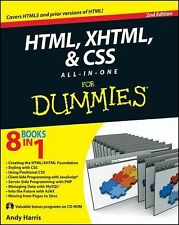 HTML, XHTML and CSS All-In-One For Dummies, Harris, Andy, Good Book