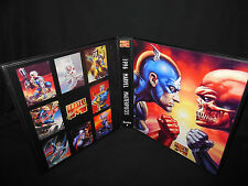Custom Made 1996 Marvel Masterpieces Series 5 Trading Card Binder Graphics Only