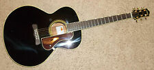 Gretsch Historic G3101 - Black Gloss Hawaiian Acoustc Guitar Flat Top Spruce