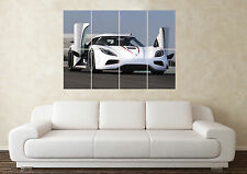 Large Koenigsegg Agera R SuperCar Sports Car Wall Poster Art Picture Print