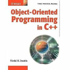 Object-Oriented Programming in C++ by Nicolai M. Josuttis (2002, Paperback)