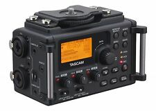 NEW! TASCAM DR-60D 4 Channel Linear PCM Audio Portable DSLR Film Recorder/M