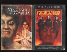 VENGEANCE OF THE ZOMBIES AKA HORROR RISES FROM THE TOMB DVD PAUL NASCHY