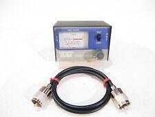TEAM Radio CB piccolo e pratico 1180a SWR METER con 60 CM PATCH LEAD