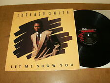 LORENZO SMITH : LET ME SHOW YOU - USA LP 1990 - ALPHA INTERNATIONAL D170953