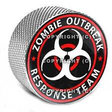 """Silver Billet Aluminum Bolt for Harley Mounting Seat to Top Fender - """"ZOMBIE"""""""