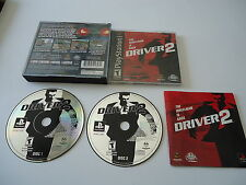 Driver 2 [Sony Playstation 1] PSX PS1 Complete in box