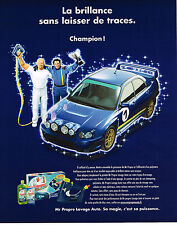 PUBLICITE ADVERTISING 114  2005  MONSIEUR PROPRE  lavage  auto