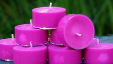 10pk 120hr /pack COCONUT FRANGIPANI Triple Scented ORGANIC SOY TEA LIGHT CANDLES