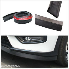 2.5m Rubber Foam Car Front Bumpers Lip Splitter Spoiler Skirt Protector Adhesive