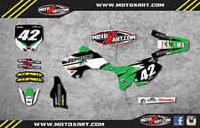 KX 125 / 250 2003 - 2012 Full graphics kit FLASH style custom sticker kit decals
