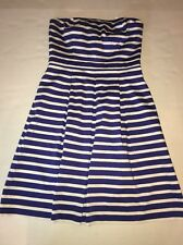 Women's Gap Fit And Flare Strapless Party Dress Size 4 NWT