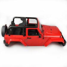 1:10 RC Car Red Shell Body SCX10 D90 Hot-rod For Jeep Crawler RC Car Truck Gifts