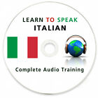 Learn To Speak Italian - Complete Language Training Course on MP3 DVD