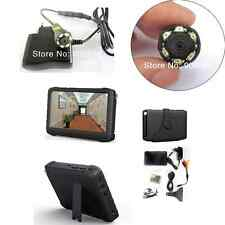 Small night vision Mini camera with portable 5 inch 2.4G wireless DVR Monitor