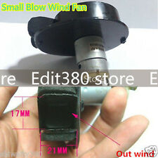 3v~5v 4.8v 380 DC Motor Electric Small Blower Blow Air Wind Fan