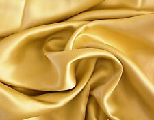 4 PIECES NEW KING GOLD SOFT SILK~Y SATIN BED SHEETS SET DEEP POCKET