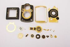 Rollei Rolleiflex 2.8F Aurum / Gold genuine spare parts lot #1