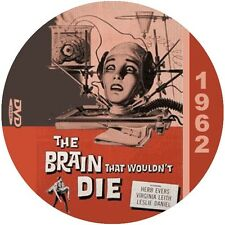 "The Brain that wouldn't Die (1962) Classic Sci-fi and Horror CULT ""B"" NR DVD"