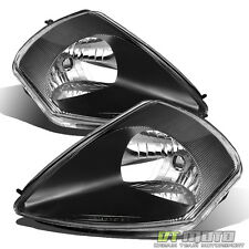 Black 00-05 Eclipse Replacement Headlights Headlamps Pair Set Left+Right Lights