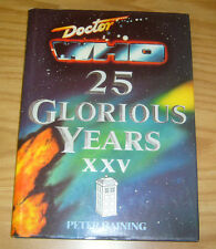 Doctor Who: 25 Glorious Years HC VF peter haining hardcover book 1988 225pgs