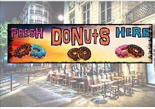 American Retro Style Diner Sign Cafe Sign Donuts Retro Sign Kitchen Sign