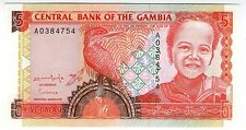 **   GAMBIE     5  dalasis   1996   p-16    UNC   **