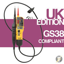 Fluke T150 - (T140 Upgraded) Voltage & Continuity Tester - Genuine UK Edition