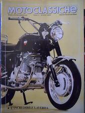 Motoclassiche n°60 1993 - L' incredibile LAVERDA    [Q37]
