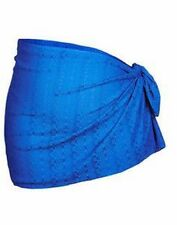 Autograph BLUE swimsuit wear in the water Sarong Wrap STRETCH lace M 18 20 22