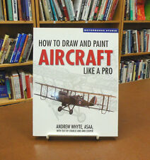 How to Draw and Paint Aircraft like a Pro Whyte Art Sketch Aviation Wings Light