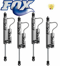 "Jeep JK FOX 2.0 IFP Remote Reservoir Shocks Front/Rear for 1.5-3.5"" Lift Kits"