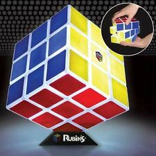 Official Rubiks Cube Light Lamp Novelty Gift - Boxed Night Light Retro